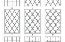 Pevné mříže - vzorník 1