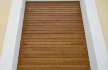 Dřevěná roleta
