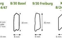Dřevěné rolety - moderní profily