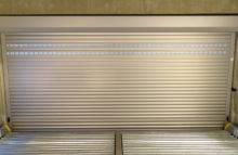 Rolovací vrata s větracími lištami